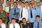 28 учеников специализированного пограничного класса стали курсантами