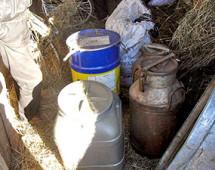 Житель Амурской области прятал 33 кг наркотиков в стогу сена