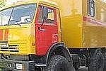 Амурские военные получили уникальную подвижную автомастерскую ПАРМ-1АМ1