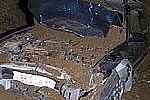 В Благовещенске в 6-метровую яму провалилась машина с пассажирами