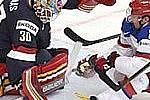 Сборная России одержала победу над США в матче чемпионата мира по хоккею